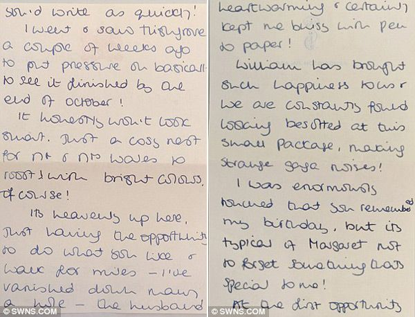 Princess Diana's Personal Letters to Margaret Hodge for Sale 2