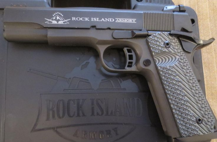 Rock Island Armory .45 Cal. 1911 Pistol Review - rock island - http://music.airgin.org/rock-music-videos/rock-island-armory-45-cal-1911-pistol-review-rock-island/