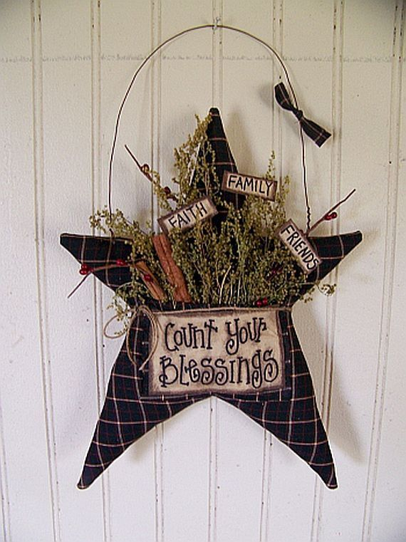 Primitive Country Star Crafts