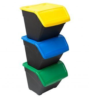 Contenedor New Eco-Box 30 litros :: Recipientes de plástico