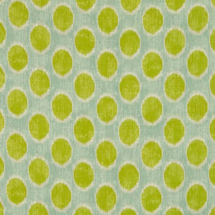 Warwick Fabrics : POP, Colour MIDORI