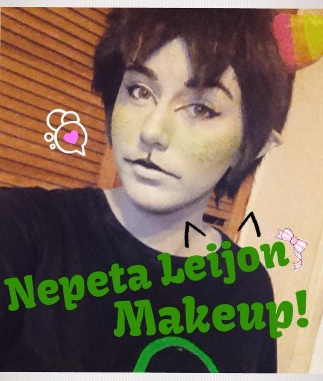 Nepeta Leijon Makeup Tutorial (Homestuck Cosplay) for Hannah