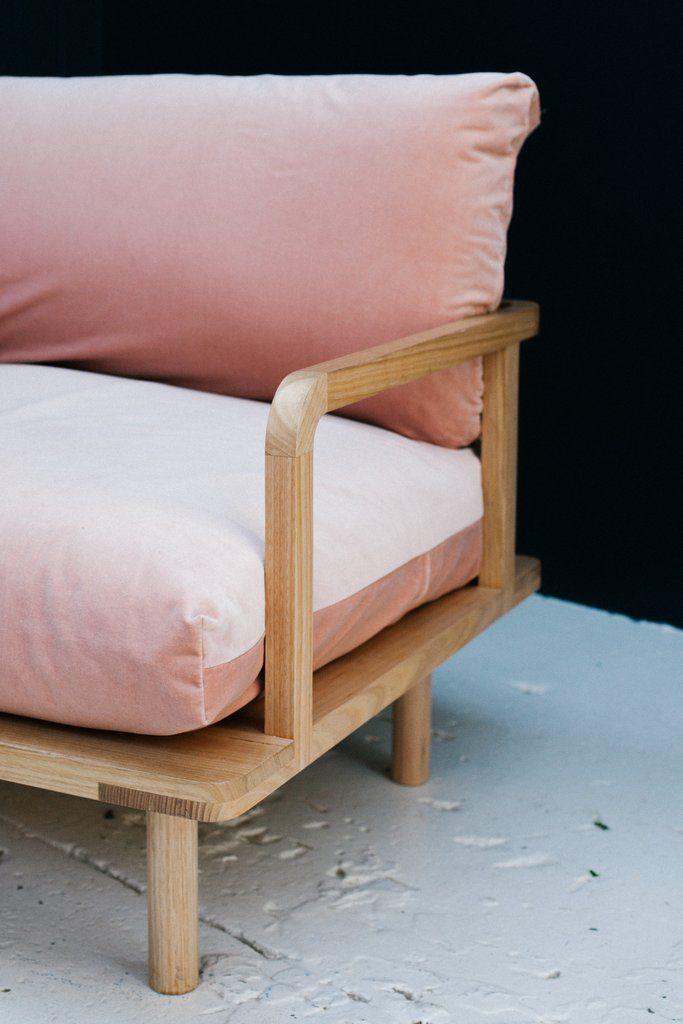P&S DREAMER COUCH PLUSH Avec accoudoirs (profondeur : 95 cm - Hauteur de l'assise - 40 cm - Hauteur total : 80 cm - Longeur : 140 - 200 - 2600 - 395 cm)