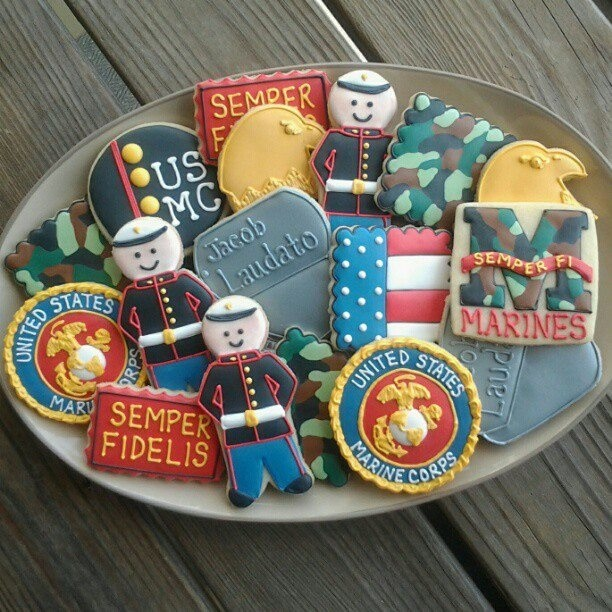 39 Best Images About Military Cookies (Decorated) On