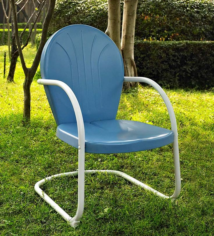Griffith Retro Metal Lawn Chair | Metal Furniture