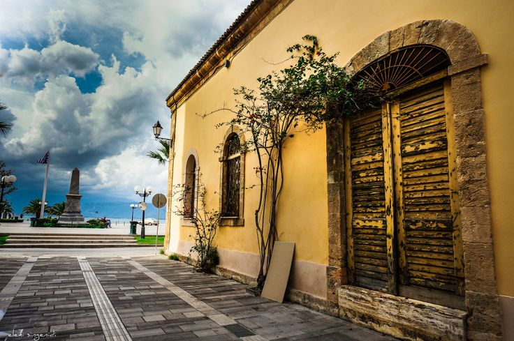 behind the old Costums view to Filelinon square! -Nafplio - Peloponnese - Greece