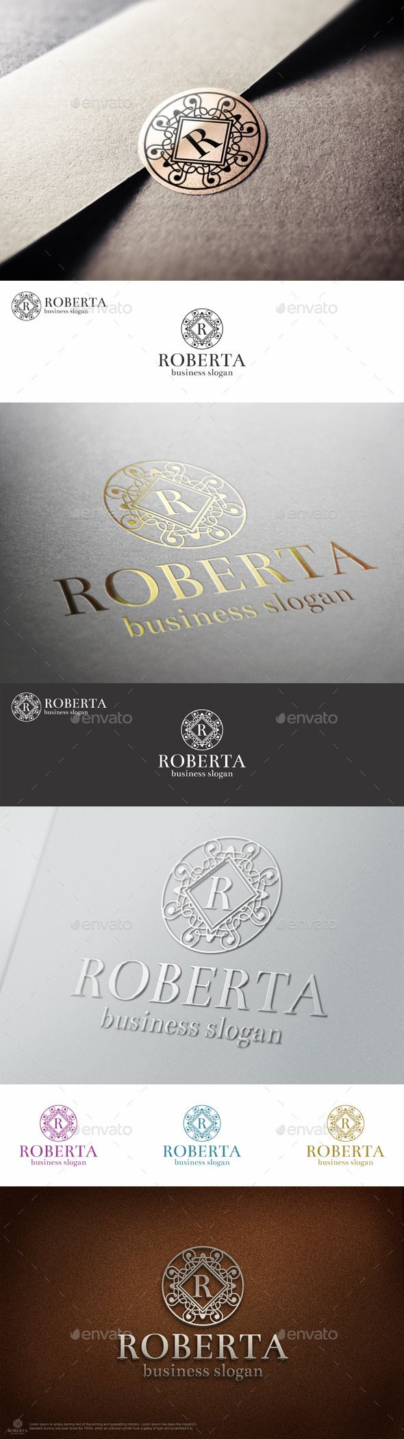 """Elegant Luxury Boutique Hotel Letter Crest Logo – Beauty Salon or Jewelry Logo – Monogram. – Suitable for businesses and product names, luxury industry like Hotel, Wedding, Real Estate, Leisure business, Luxury restaurant, Beauty Salon, Fashion and clothing businesses. Stylish Multi Purpose Logo Template. Perfect for Boutique – Hotels, Finance, Investment, Jewelery, Media Group, Fashion, Winery… (Industry with classy and luxury style ) ( you can change letter """"R"""" in any letter, as you like…"""