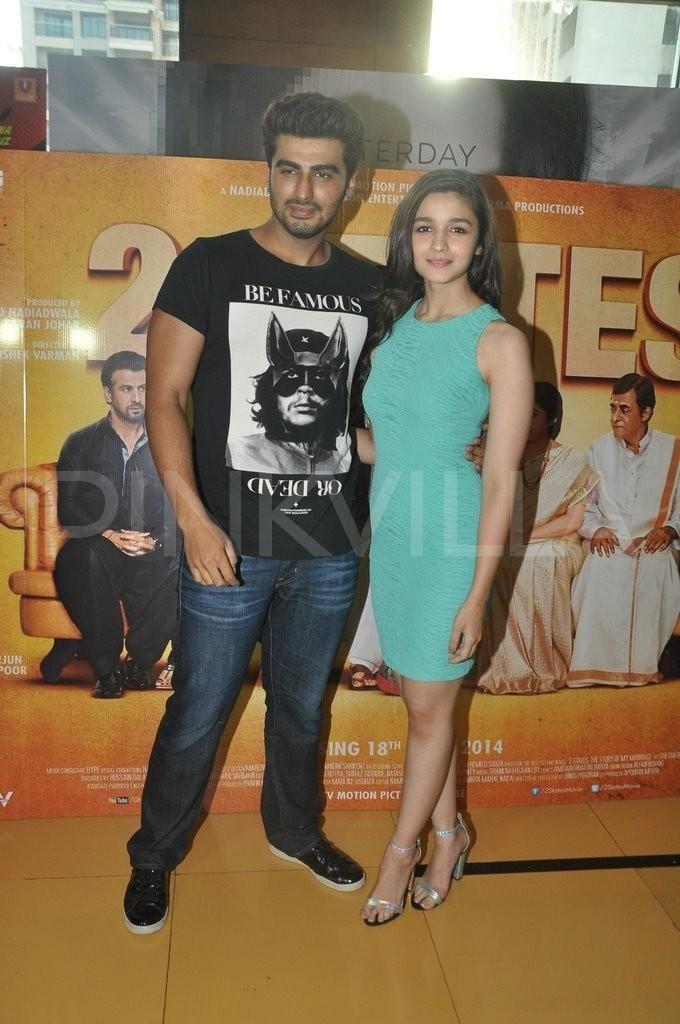 Alia Bhatt & Arjun Kapoor promote 2 States   PINKVILLA