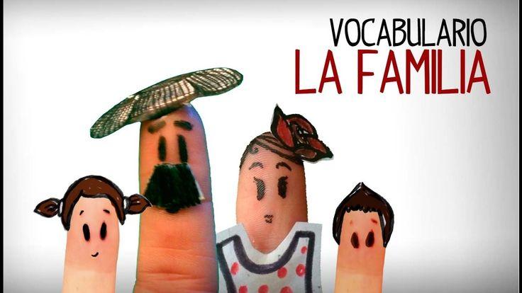 Vocabulário da família em espanhol