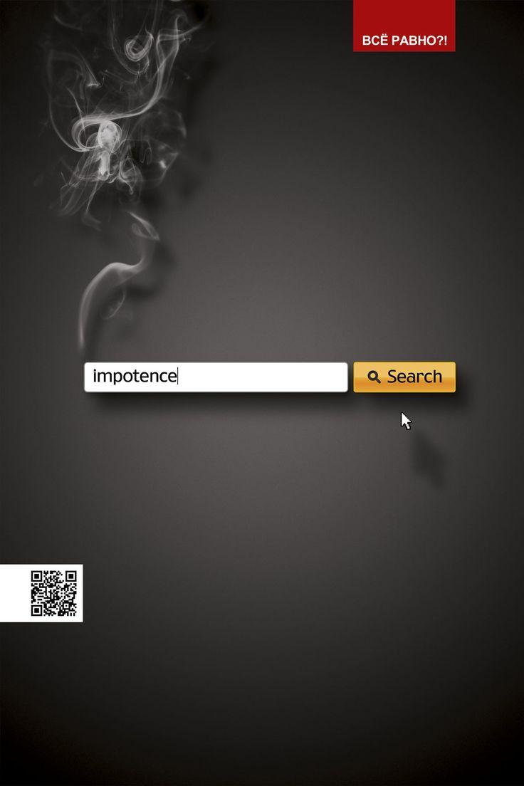 De esas campañas impresas simples pero muy creativas y buenas contra el tabaquismo