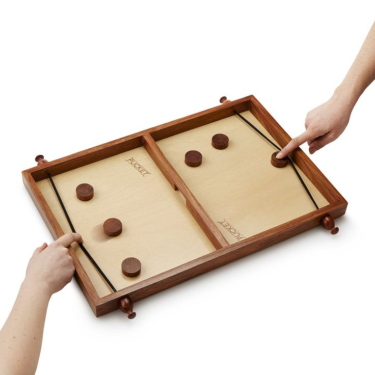 PUCKET | family game night, wood game | UncommonGoods
