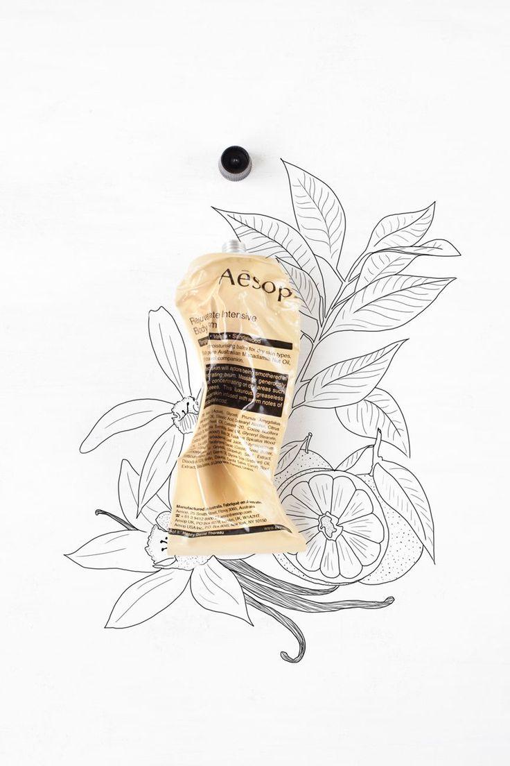 My little fabric ♥ Aésop #packaging