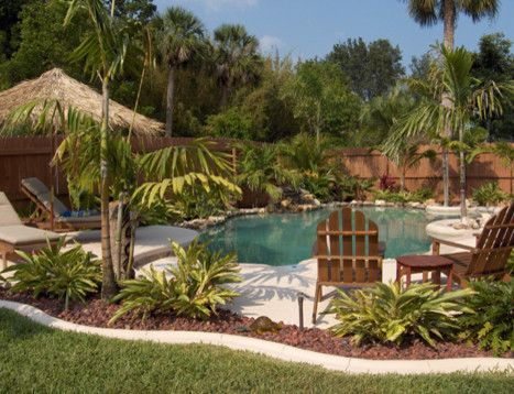 Tropical Landscape Design, Pictures, Remodel, Decor and Ideas - page 5 ~ ideas around the pool
