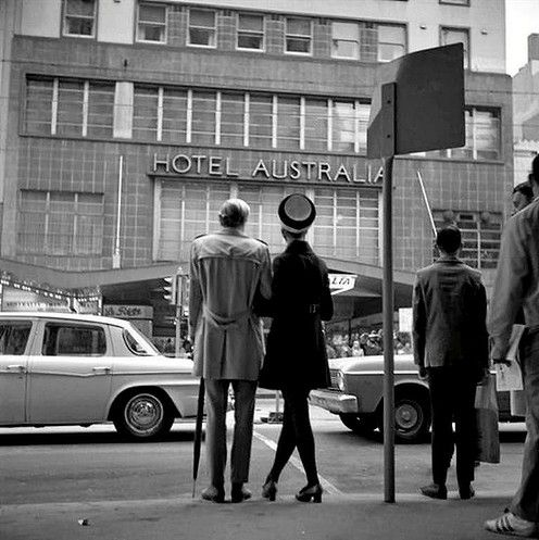 Hotel Australia Collins St 1969 Photo: Angus O'Callaghan