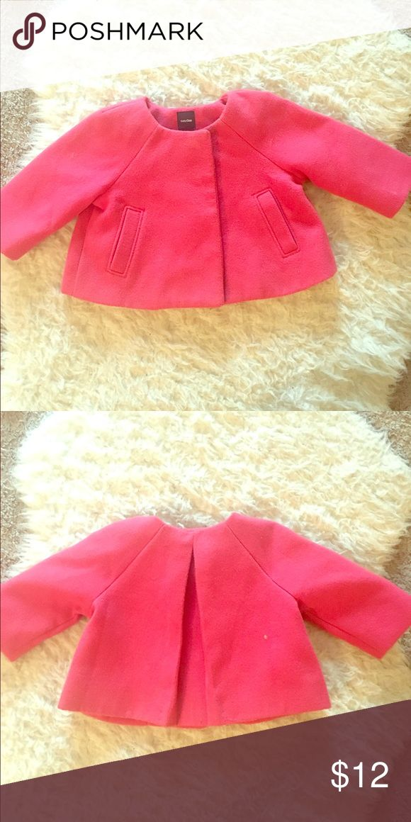 Babygap pink peacoat Pink baby girl peacoat lightly worn. In perfect condition💕💕💕 GAP Jackets & Coats Pea Coats