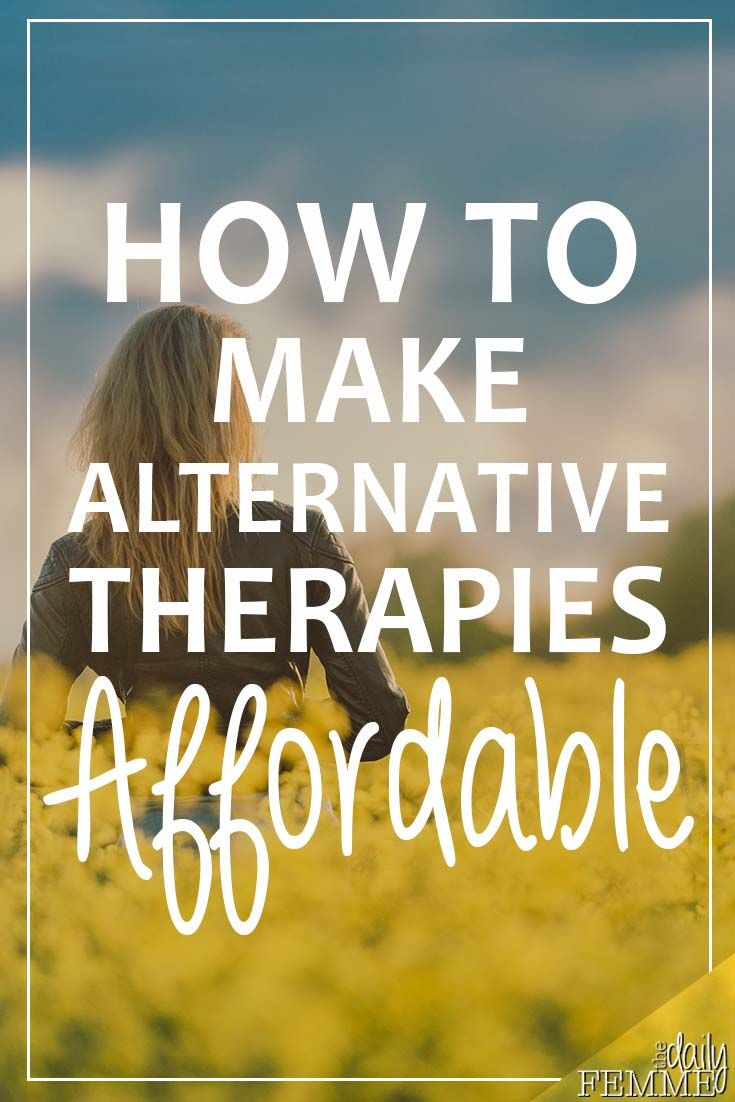 There are so many benefits to using alternative therapies but there can be hesitation due to the price.