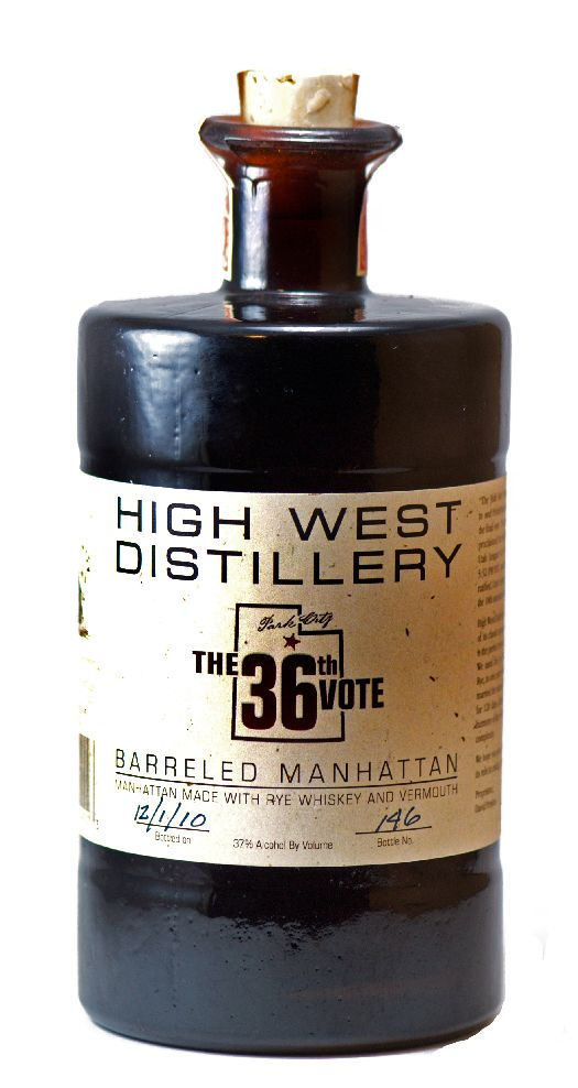 Not really a whiskey per say, but looks interesting. High West Distillery has put out a Barreled Manhattan which unlike most premixed drinks, is a legit premixed full strength manhattan using High West's 95% rye. $50