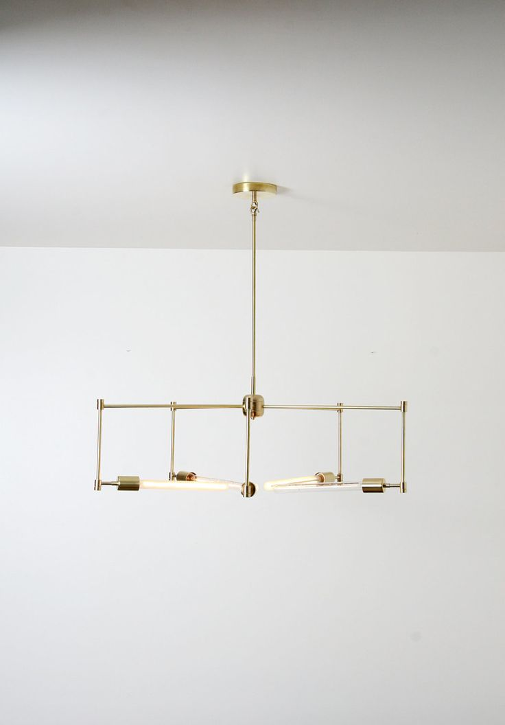 """DETAILS:  dimensions: Approx. 34"""" dia.x 10"""" H(Height is customizable please specify  desired drop height when ordering)  finishes: satin brass, satin nickel, matte black  bulb wattage: maximum wattage per bulb is 40 watt.  lead time: 5 to 7 weeks from date of purchase.  included: (5) 40 watt T8 12"""" tubular frosted bulbs withE26 base, 5"""" dia.  canopy and 4"""" crossbar mounting hardware.  weight: 6 lbs. (without bulbs)  shipping is included,due to size of fixture shipping is via freight…"""