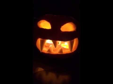 Halloween Scary Pumpkin - made by logo1.ro