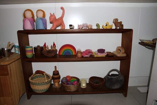 The Little Gnomes Home: Our steiner inspired play space