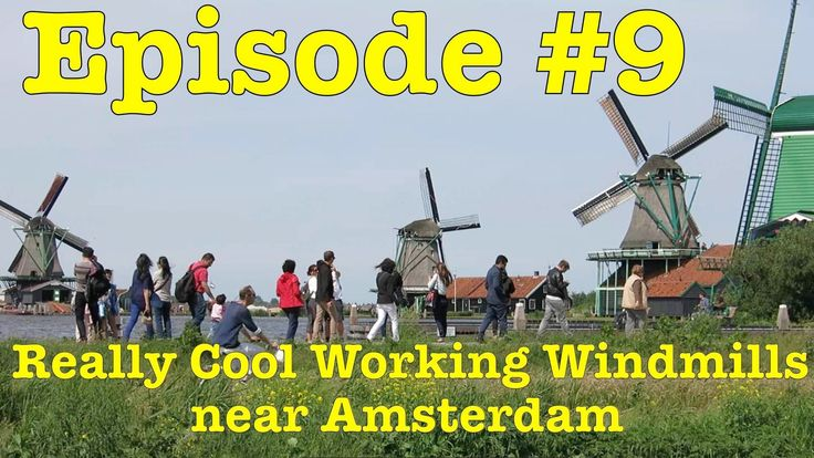 See Working Windmills near Amsterdam. This step by step video shows the first time visitor how to get from Amsterdam Centraal Station to Zaanse Schans.   Find out more at: http://mikestravelguide.com/destinations/things-to-do-in-amsterdam/