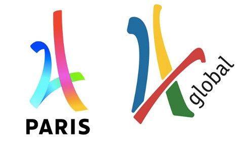 Did Paris pinch its 2024 Olympic Games logo?
