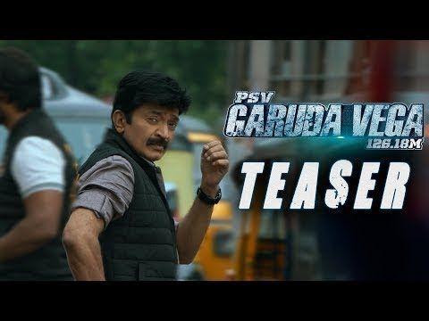 Garuda Vega Full Teaser Rajasekhar Pooja Kumar Shraddha Das Adith Sunny