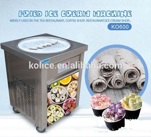 Source Etl Ce Commercial Easy Make Roll Fruit Fried Ice Cream