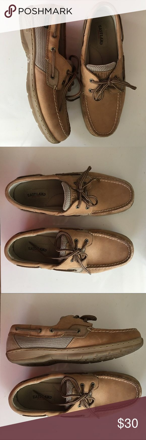 women boat shoes eastland boat shoes similar to sperrys // slightly used Eastland Shoes Flats & Loafers