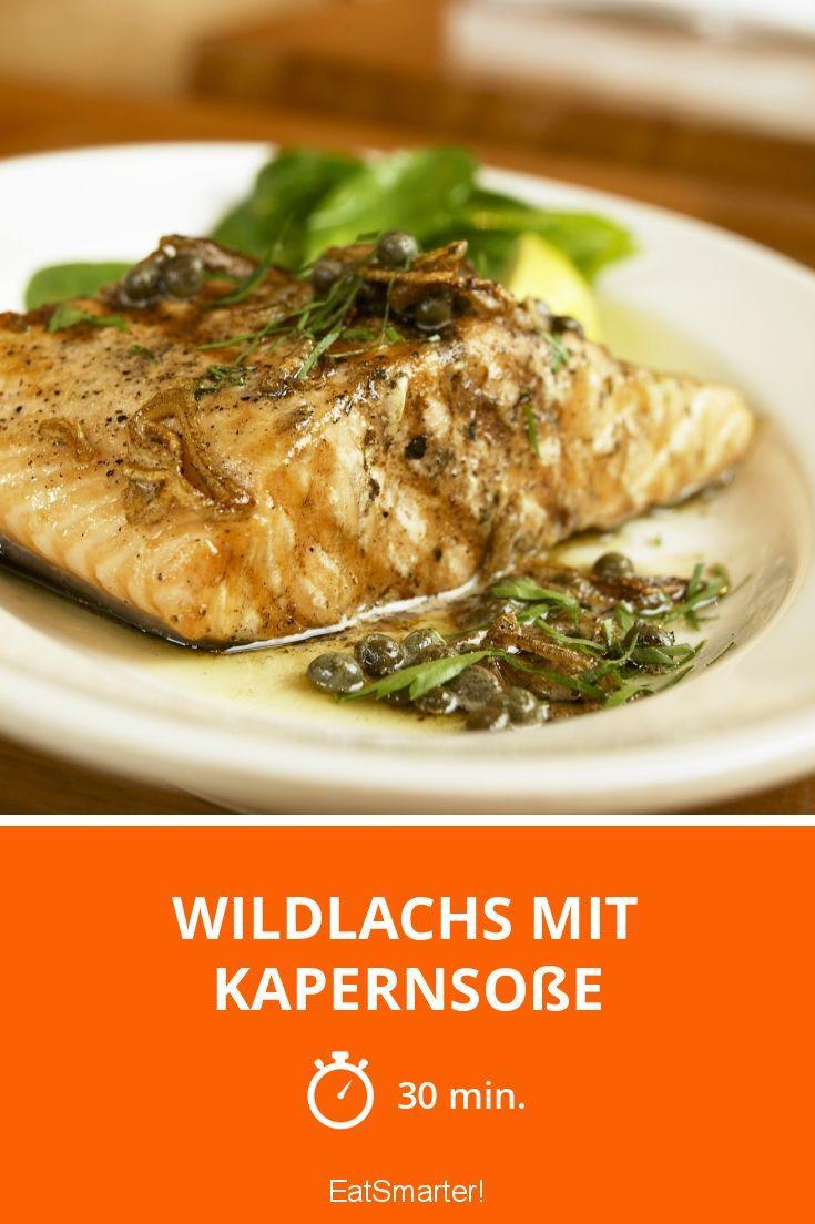 Wildlachs mit Kapernsoße - smarter - Zeit: 30 Min.   eatsmarter.de