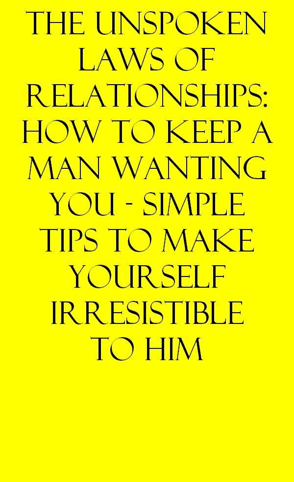 Men dont want relationships