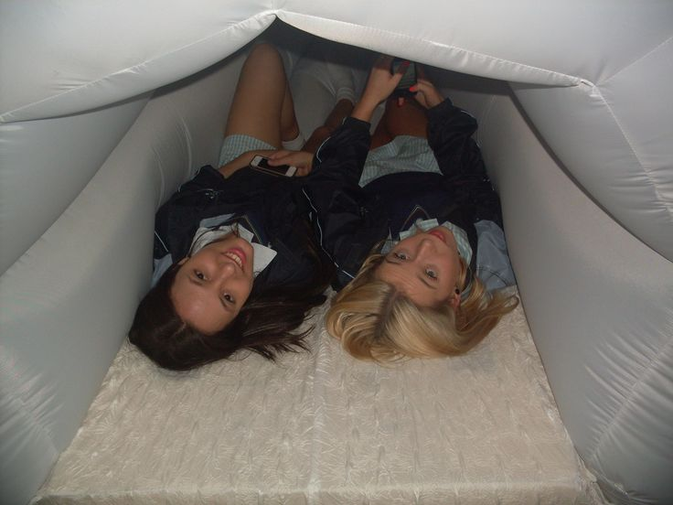Blindside Gallery - Jess and Courtney inside the 'Orgasmatron'