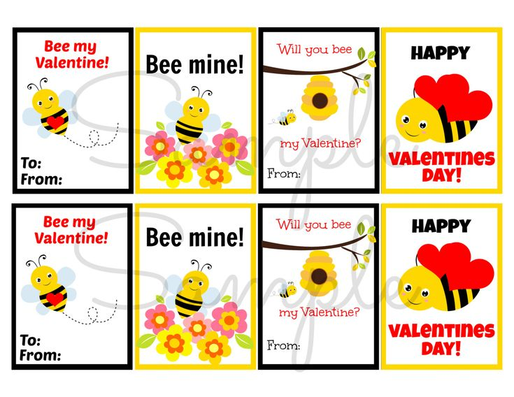 211 best images about Kids Jokes – Bee Valentine Cards
