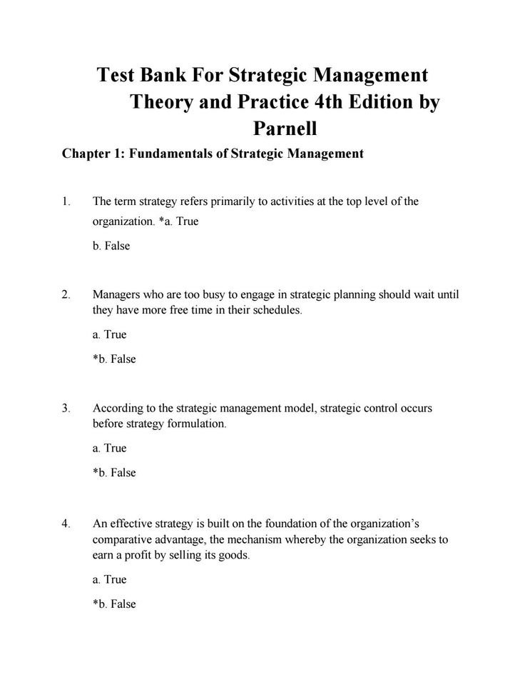 46 best test bank free images on pinterest download test bank for strategic management theory and practice 4th edition by parnell fandeluxe Choice Image