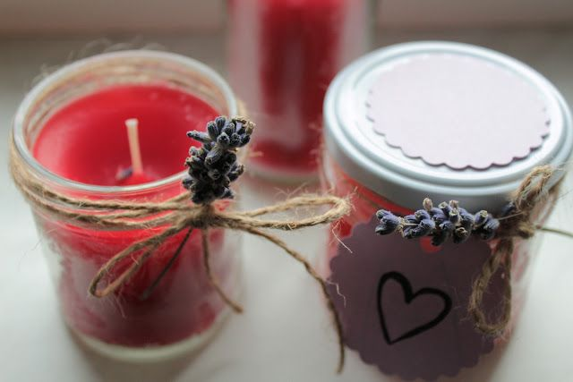 Život v krystalu ... DIY candles