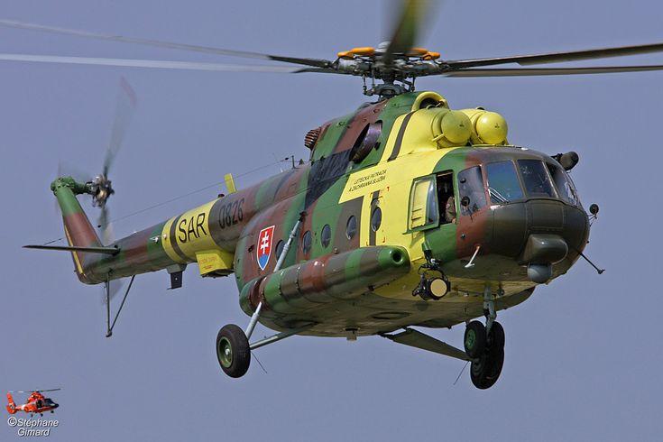 Slovak Army MI17 helicopter, Photo Stéphane Gimard