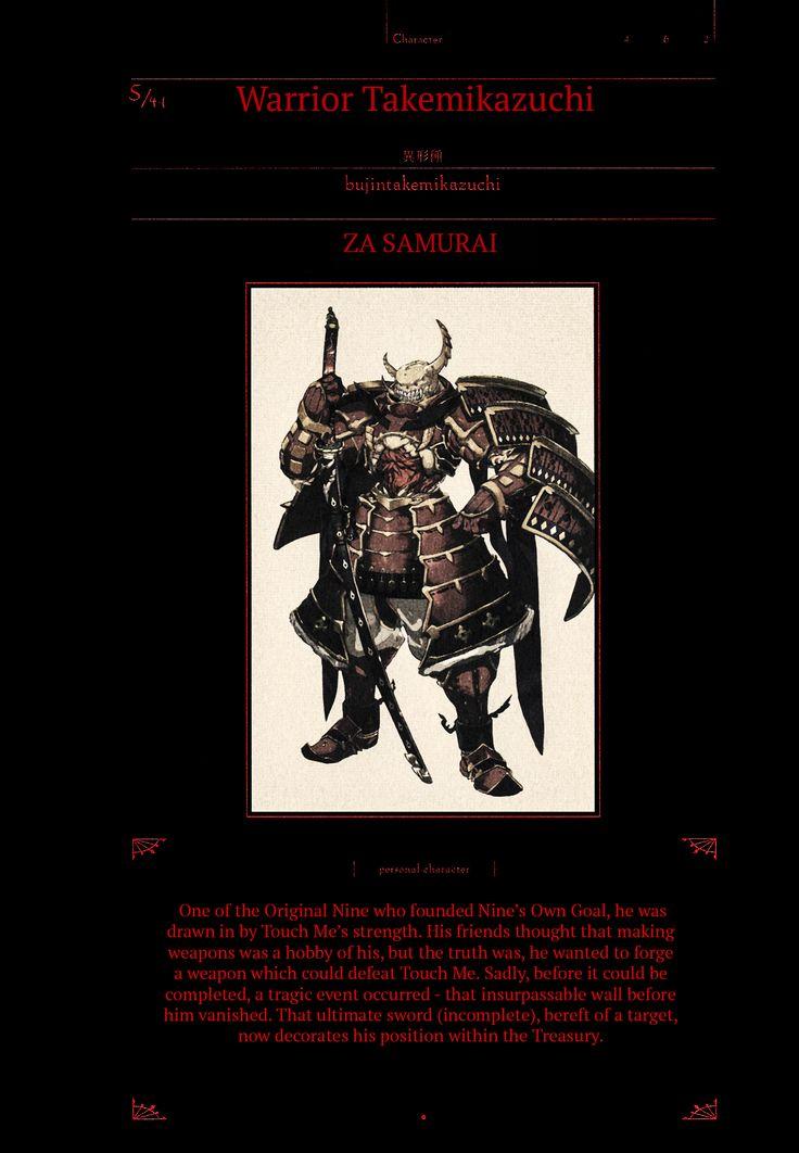 Warrior Takemikazuchi dos 41 Seres Supremos   Overlord ...