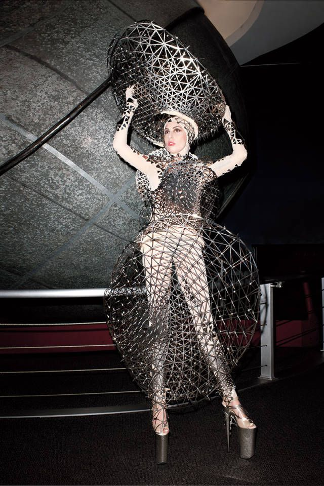 Lady Gaga's March Cover Shoot for Harper's Bazaar-- Wow fashion that's truly magnetic!