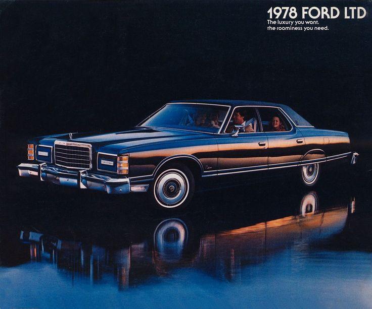1978 Ford LTD 4-Door Landau
