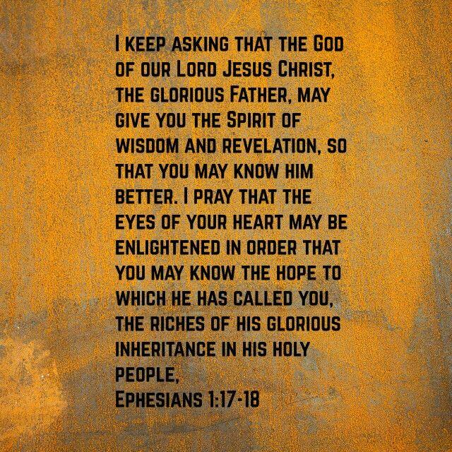Eph 1:17-18
