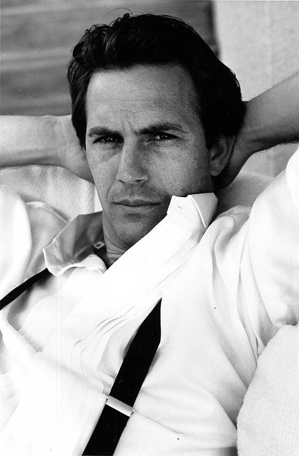 Kevin Costner. classic & simple. Inspirations for Monica Hahn Photography