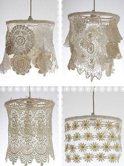 doily lampshades