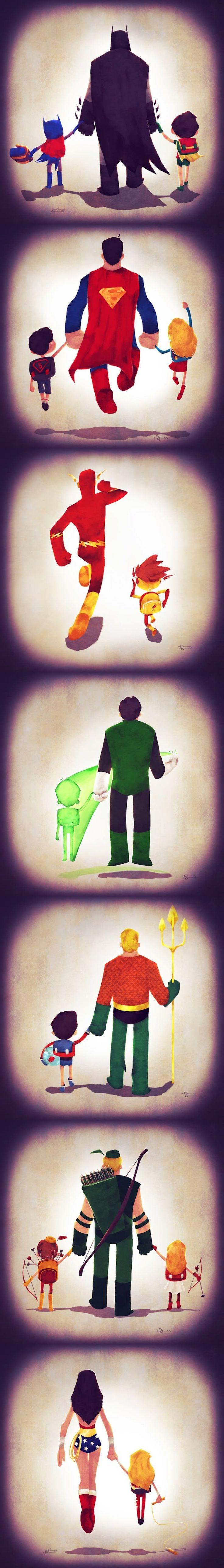 pais herois dc comics - http://elshangowuzhere.blogspot.fr/