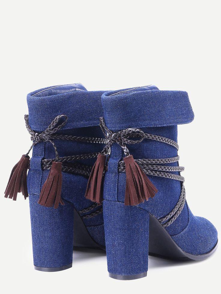 Стильные ботинки на каблуках