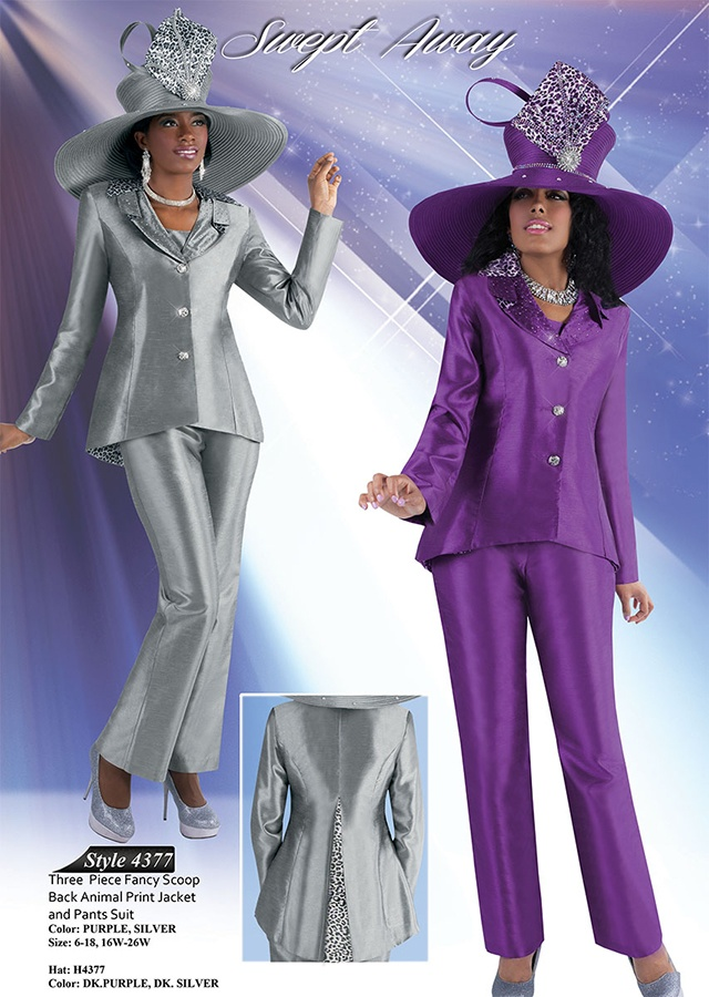 Tally Taylor Pant Suits Purple Or Silver Women S Suits