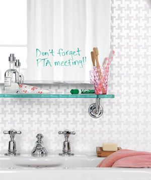 Keep A Dry Erase Marker By Your Mirror And Write Reminders To Yourself