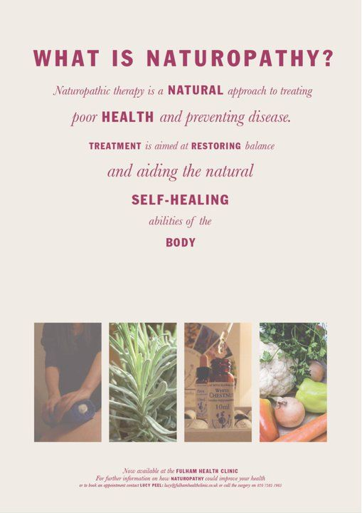 Naturopathy poster-What is Naturopathy?
