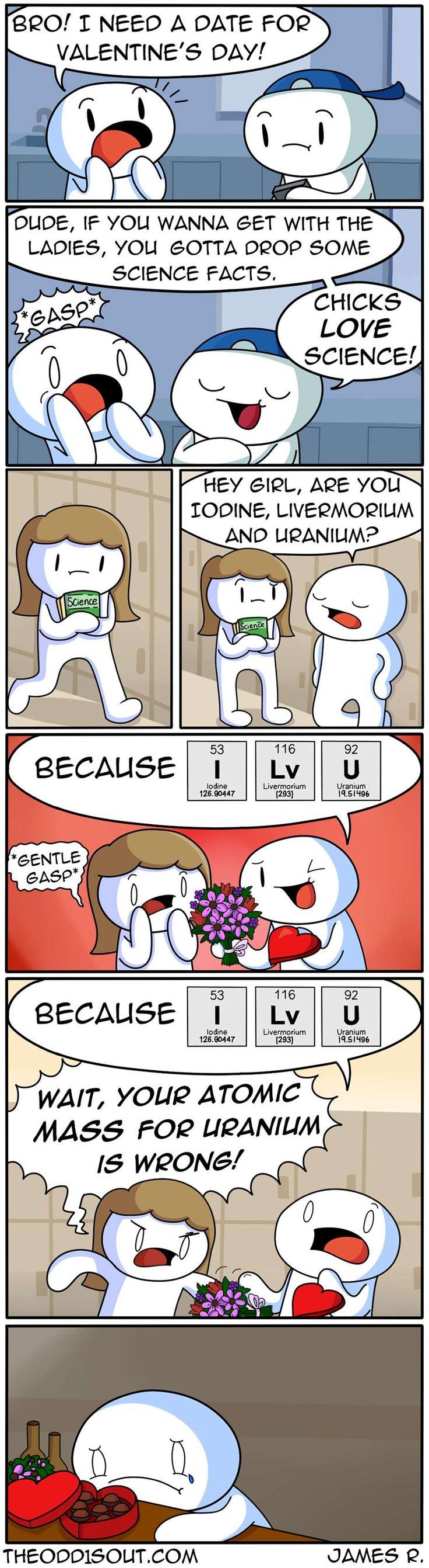 Theodd1sout :: Chicks Love Science!   Tapastic Comics - image 1