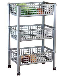 vegetable storage trolley kitchen for vegetable storage in pantry counter argos 163 9 6755
