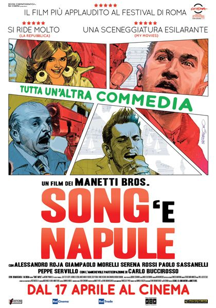 Le maratone di un bradipo cinefilo: Song ' e Napule ( 2013 )
